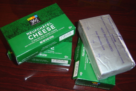 [Whole Foods 365 Neufchatel Cheese]