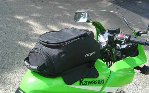 [tank bag installed]