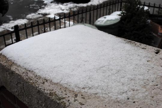 [residual snow]